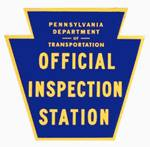 PA Official Inspections Station Badge